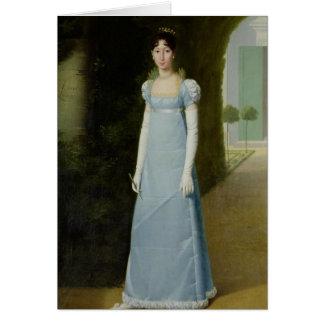 Portrait of Charlotte Bonaparte  1808 Card