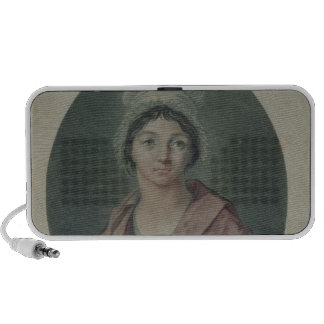 Portrait of Charlotte Corday  after 1793 Mini Speakers