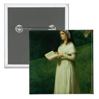 Portrait of Charlotte Corday Pinback Button