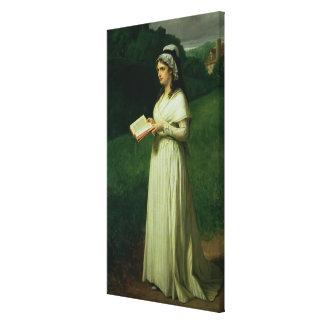 Portrait of Charlotte Corday Canvas Print