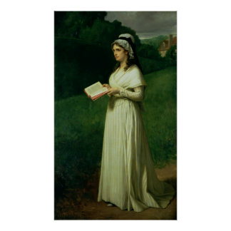 Portrait of Charlotte Corday Poster