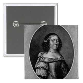 Portrait of Charlotte, Countess of Derby Pin