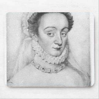 Portrait of Charlotte de Beaune  Dame de Mouse Pad
