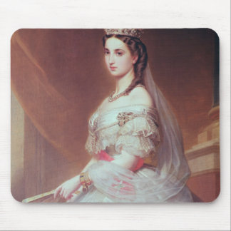 Portrait of Charlotte of Saxe-Cobourg-Gotha Mouse Pad