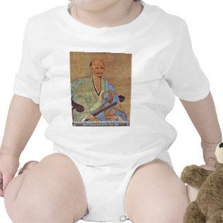 Portrait Of Chinese Chan Buddhist Monk Wuzhun Tee Shirt