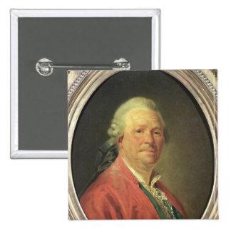 Portrait of Christoph Willibald von Gluck , 1777 Button