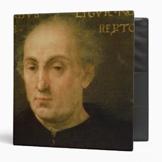 Portrait of Christopher Columbus Binder