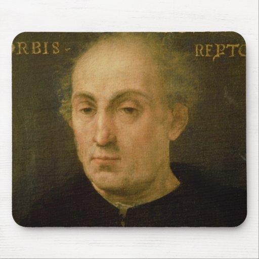 Portrait of Christopher Columbus Mouse Pad