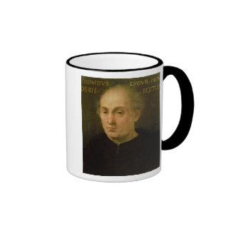 Portrait of Christopher Columbus Ringer Coffee Mug