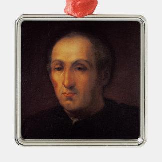 Portrait of Christopher Columbus Christmas Ornament
