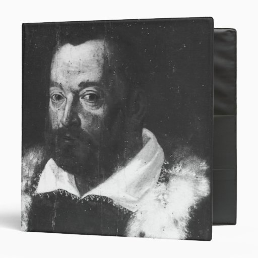 Portrait of Christopher Columbus Vinyl Binders