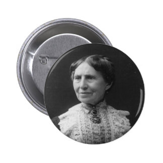 Portrait of Clara Barton Later in Life Buttons