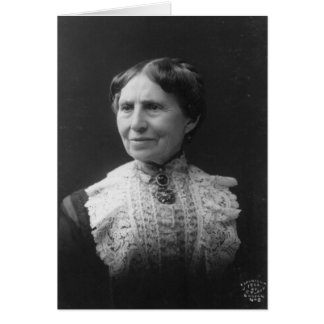 Portrait of Clara Barton Later in Life Card