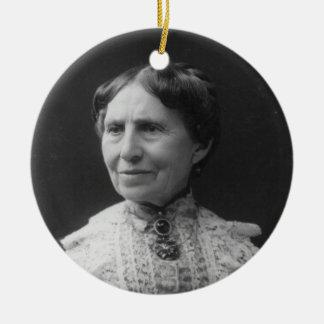 Portrait of Clara Barton Later in Life Ceramic Ornament