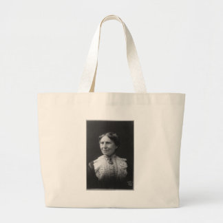 Portrait of Clara Barton Later in Life Large Tote Bag