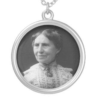 Portrait of Clara Barton Later in Life Custom Necklace