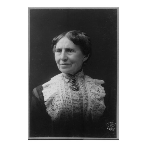 Portrait of Clara Barton Later in Life Poster