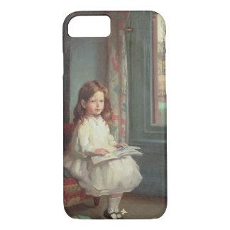 Portrait of Clara Hughes, 1902 (oil on canvas) iPhone 8/7 Case