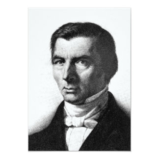 Portrait of Classical Liberal Frederic Bastiat Card