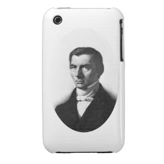 Portrait of Classical Liberal Frederic Bastiat iPhone 3 Case-Mate Cases
