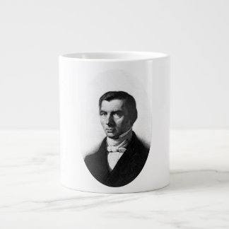 Portrait of Classical Liberal Frederic Bastiat Large Coffee Mug