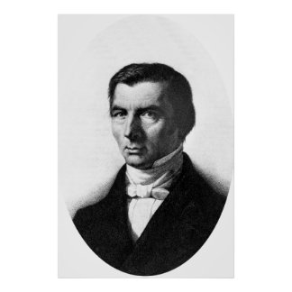 Portrait of Classical Liberal Frederic Bastiat Poster