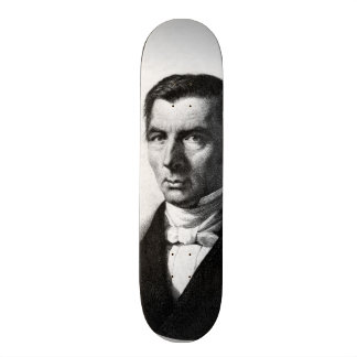 Portrait of Classical Liberal Frederic Bastiat Skateboard Deck