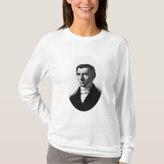 Portrait of Classical Liberal Frederic Bastiat T-Shirt