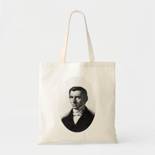 Portrait of Classical Liberal Frederic Bastiat Tote Bag
