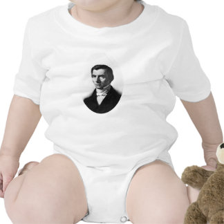 Portrait of Classical Liberal Frederic Bastiat Tshirts