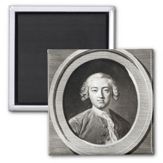 Portrait of Claude Adrien Helvetius  french Magnet