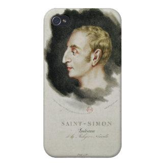 Portrait of Claude Henri de Rouvroy Case For iPhone 4
