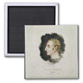 Portrait of Claude Henri de Rouvroy Magnet