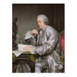 Portrait of Claude-Henri Watelet  1763-65 Post Card