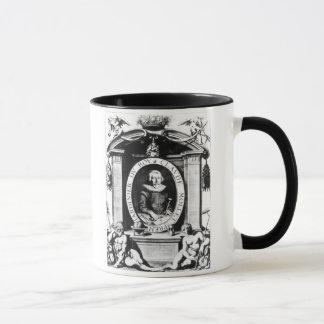Portrait of Claude Mollet, frontispiece to 'Theatr Mug
