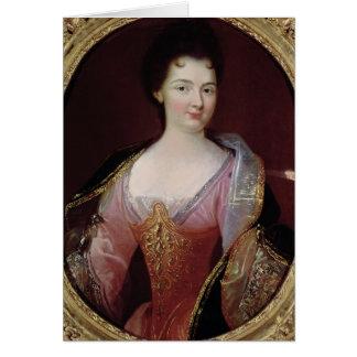 Portrait of Claudine Alexandrine Guerin Greeting Card