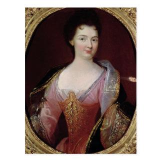 Portrait of Claudine Alexandrine Guerin Postcard