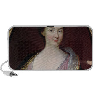 Portrait of Claudine Alexandrine Guerin iPod Speakers