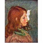 Portrait Of Coco By Pierre-Auguste Renoir Cut Outs