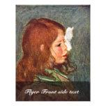Portrait Of Coco By Pierre-Auguste Renoir Flyers