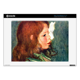 Portrait of Coco by Pierre Renoir Decal For Acer Chromebook