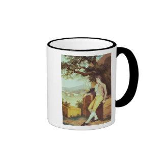 Portrait of Colonel David La Touche of Marcey Coffee Mugs