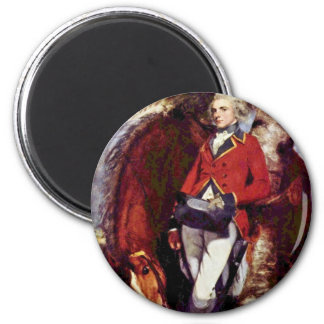 Portrait Of Colonel George Kh Coussmaker Magnets