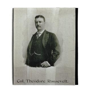 Portrait of Colonel Theodore Roosevelt (litho) iPad Folio Cover