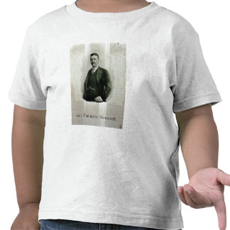 Portrait of Colonel Theodore Roosevelt litho Tee Shirts