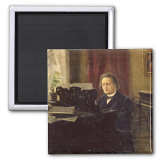 Portrait of Composer Anton Rubinstein Fridge Magnets