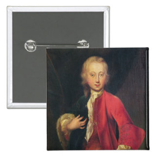 Portrait of Comte Maurice de Saxe Button