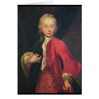 Portrait of Comte Maurice de Saxe Card
