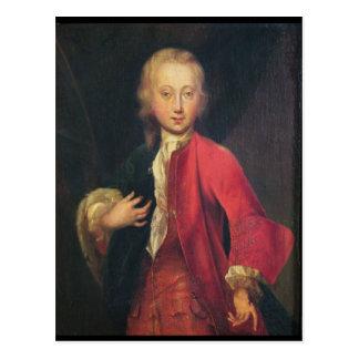 Portrait of Comte Maurice de Saxe Postcard