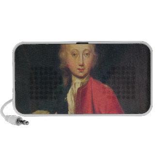 Portrait of Comte Maurice de Saxe Mp3 Speaker